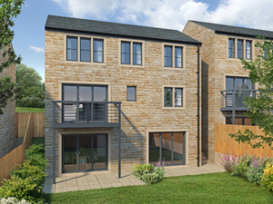 4-bedroom detached new home for sale in Linthwaite Huddersfield, by new house builder, SB Homes
