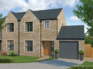 4 bedroom semi-detached home with garage at affordable housing rates in Linthwaite, Huddersfield