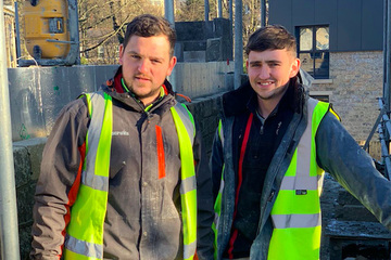 SB Homes - new homes in Huddersfield - Brothers Tom and Jack Hampshire