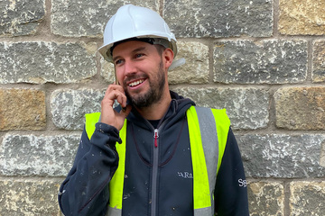 Ryan Clifford - site manager at new homes Huddersfield builder, SB Homes