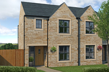 Affordable housing property in Linthwaite, Huddersfield by SB Homes - 4 bedroom semi-detached