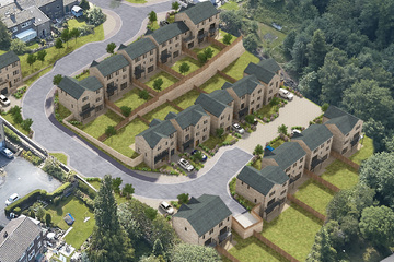 New homes for sale in Linthwaite, Huddersfield, by local new house builder, SB Homes