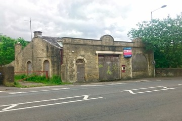 Old Fire Station in Marsden - bought by SB Homes